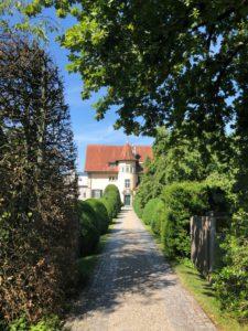 Casa lui Jung vedere din față