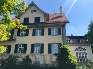 Casa lui Jung vedere din spate